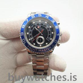 Rolex Yacht-Master 116680 Reloj automático para hombre de acero negro de 44 mm