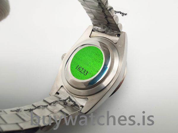 Rolex Day-Date 218349 Reloj automático negro con diamantes para hombre de 41 mm