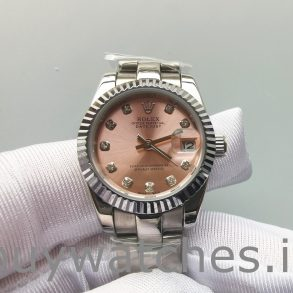 Rolex Datejust 178271 Reloj mediano de acero Eve Gold Diamond para dama