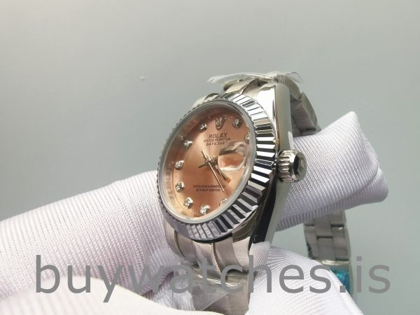 Rolex Datejust 178271 Reloj mediano de acero Eve Gold Diamond para dama