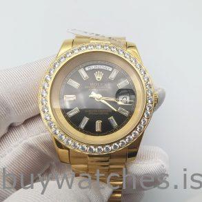 Rolex Day-Date 228348RBR Oro 18k Con Diamantes 40 mm Automático