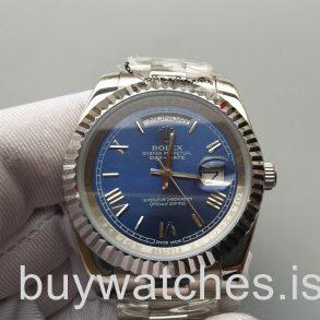 Rolex Day-Date 228239 Reloj automático azul para hombre de 40 mm