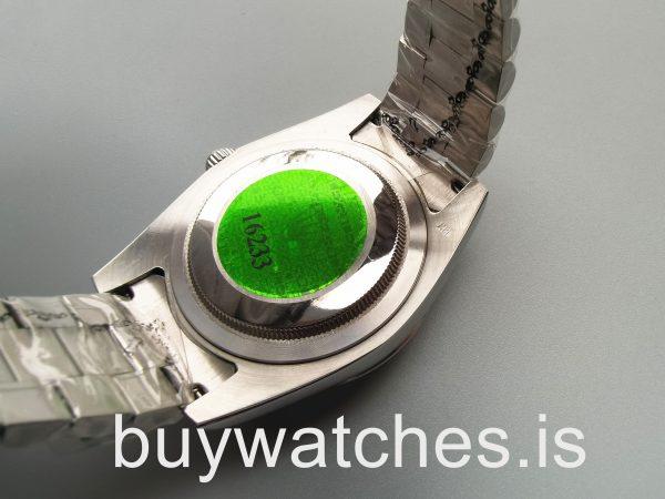 Rolex Day-Date 228206 Reloj automático de acero azul Mans de 40 mm