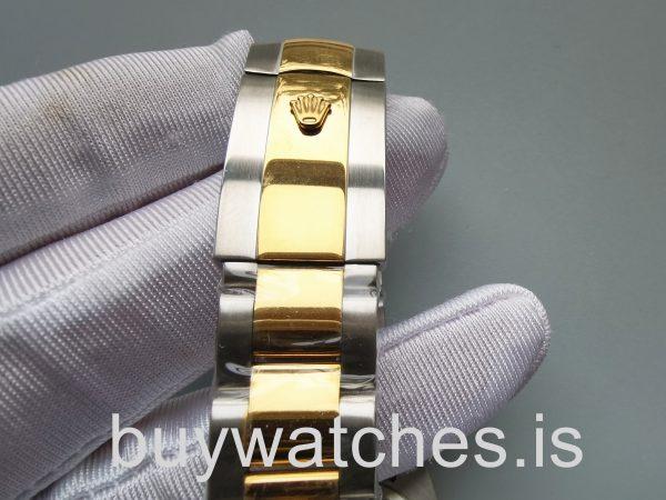 Rolex Datejust 126303 Reloj automático de acero inoxidable negro de 41 mm