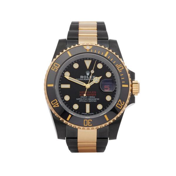 Rolex Submariner 116613LN Reloj automático negro para hombre de 40 mm