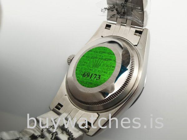 Rolex Datejust 68274 Reloj automático plateado para mujer de 31 mm