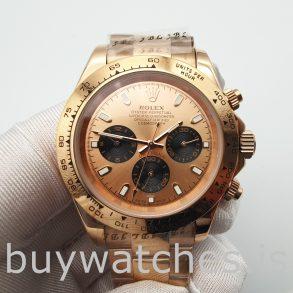 Rolex Daytona 116505 Reloj Oyster automático Everose Gold de 40 mm