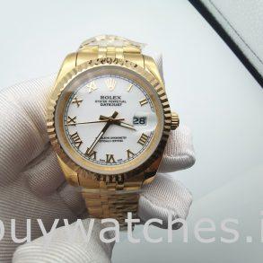 Rolex Datejust 126333 Reloj automático para hombre de acero blanco de 41 mm