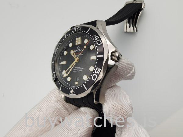 Omega 210.22.42.20.01.004 Seamaster Reloj Automático Caucho Negro 42 Mm
