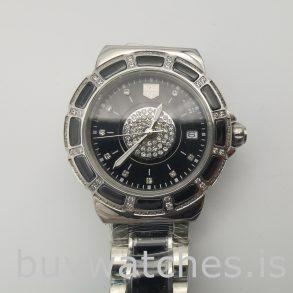 Tag Heuer Formula 1 WAH1219.BA0859 Reloj redondo de cuarzo negro de 35 mm