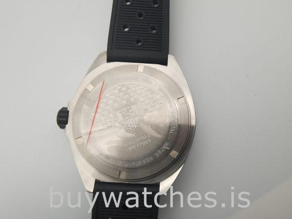 Quartz Tag Heuer Formula 1 Reloj para hombre de caucho negro de 41 mm