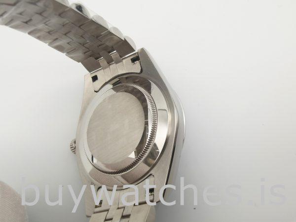 Rolex Datejust 126300 Reloj automático de acero azul para hombre de 41 mm