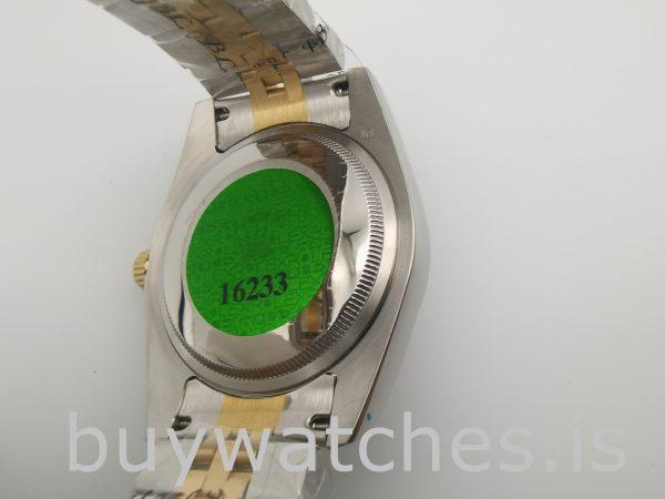 Rolex Datejust 116233 Reloj Automático Mujer Acero Blanco 36 mm