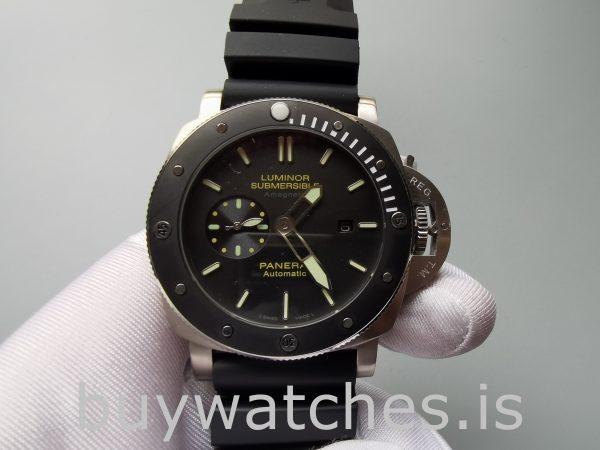 Panerai Luminor Submersible Pam00389 Reloj automático negro para hombre de 47 mm