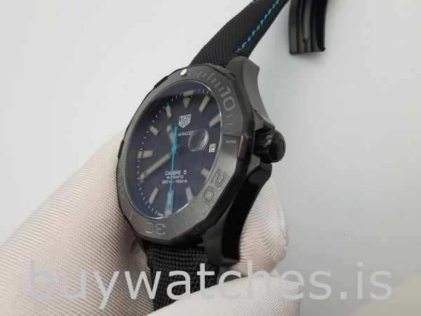 TAG Heuer Aquaracer WBD218C.FC6447 Reloj automático de nailon negro de 41 mm