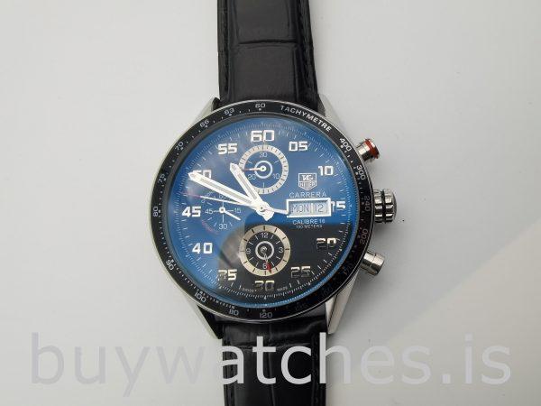 TAG Heuer Carrera CV2A1R.FC6235 Reloj automático redondo negro para hombre de 43 mm