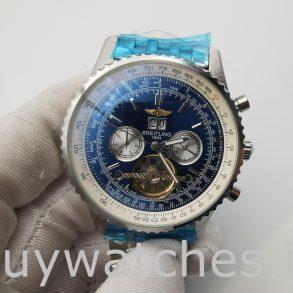 Breitling Navitimer A24322 Reloj automático para hombre con esfera azul de 46 mm