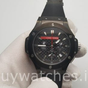 Hublot Big Bang 301.CM.131.RX.LUN06 Rubber 44mm Reloj automático negro