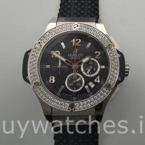 Hublot Big Bang 301.SX.130.RX.114 Reloj automático de caucho negro de 44 mm
