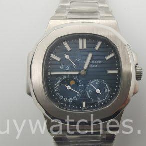 Patek Philippe Nautilus 5712/1A-001 Reloj automático unisex con esfera azul