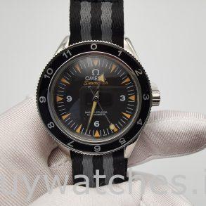 Omega Seamaster 233.32.41.21.01.001 Reloj para hombre de nailon de 41 mm