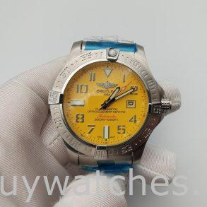 Breitling Avenger Seawolf A17331101 I1A1 Reloj amarillo de 45 mm para hombre