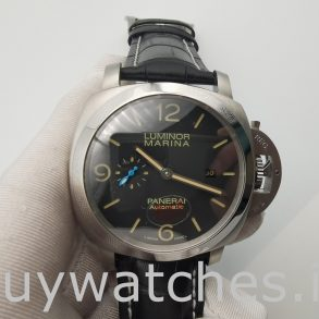 Panerai Luminor Marina PAM01312 Reloj unisex de acero automático de 44 mm