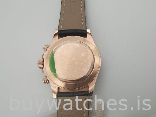 Rolex Daytona 116515 Reloj de cuero con esfera color chocolate de 40 mm