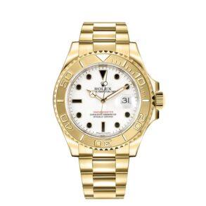 Rolex Yacht-Master 16628 Reloj para hombre de 40 mm en oro amarillo de 18 k