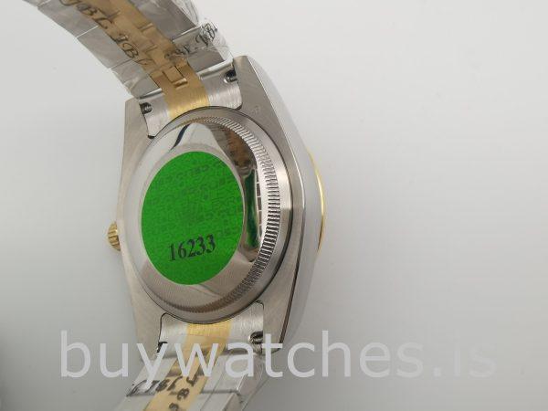 Rolex Datejust 126283RBR 36mm Reloj para dama con esfera color champán