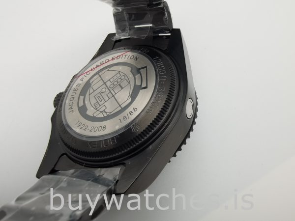 Rolex Deepsea 116660 Reloj automático de acero inoxidable negro de 44 mm