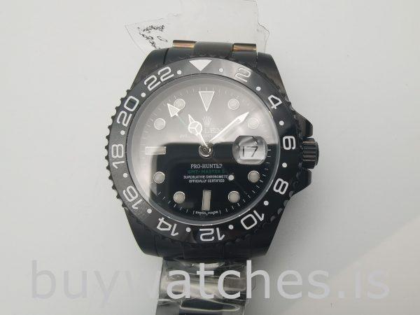 Rolex GMT Master II 116710 Reloj de acero negro para hombre de 40 mm