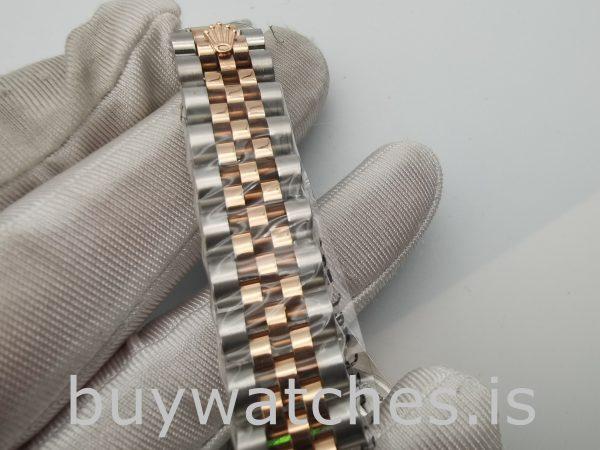 Rolex Datejust 178271 Reloj unisex de 31 mm con esfera floral rosa