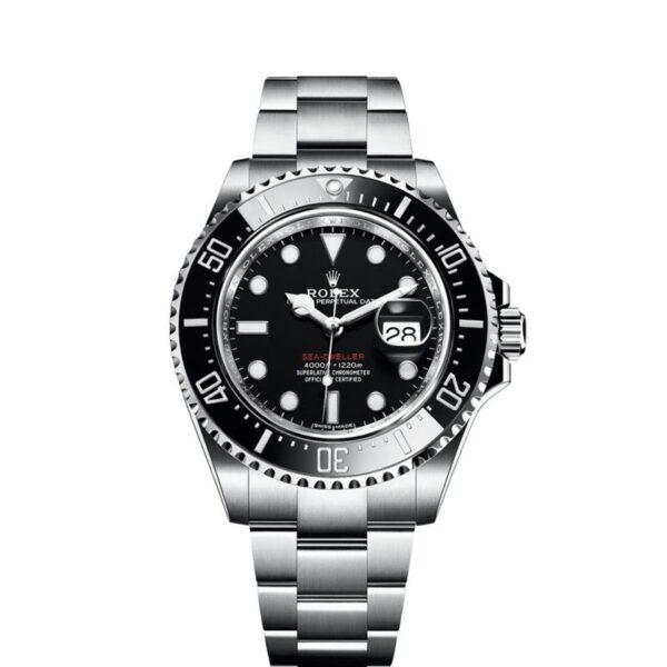 Rolex Sea-Dweller 126600 Black Steel Round 43mm Reloj automático suizo