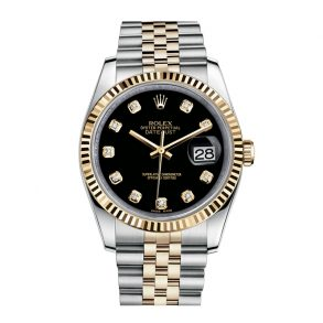 Rolex Datejust 116233 Reloj unisex de 36 mm en oro amarillo de 18 k
