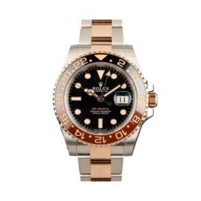 Rolex GMT-Master 126711 Reloj para hombre con esfera negra de acero de 40 mm