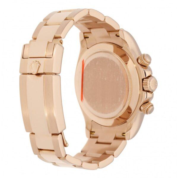 Rolex Daytona 116505 Reloj redondo de oro rosa para hombre de 40 mm