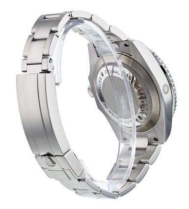 Rolex Sea-Dweller 116600 Reloj para hombre con esfera negra de acero de 40 mm