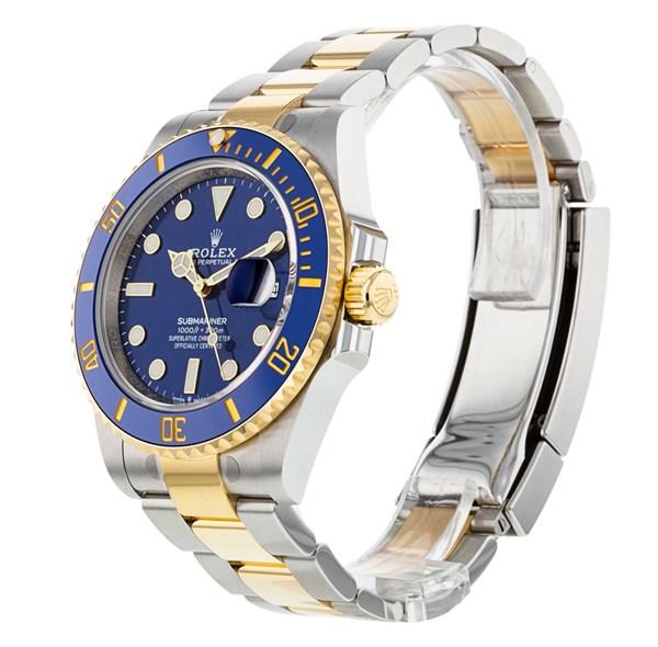 Rolex Submariner 126613 Reloj para hombre de 41 mm con esfera azul acero