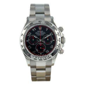 Rolex Daytona 116509 Black Dial 40mm Reloj automático suizo con zafiro