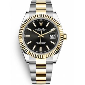 Rolex Datejust 126333 Reloj para hombre de 41 mm en oro amarillo de 18 quilates