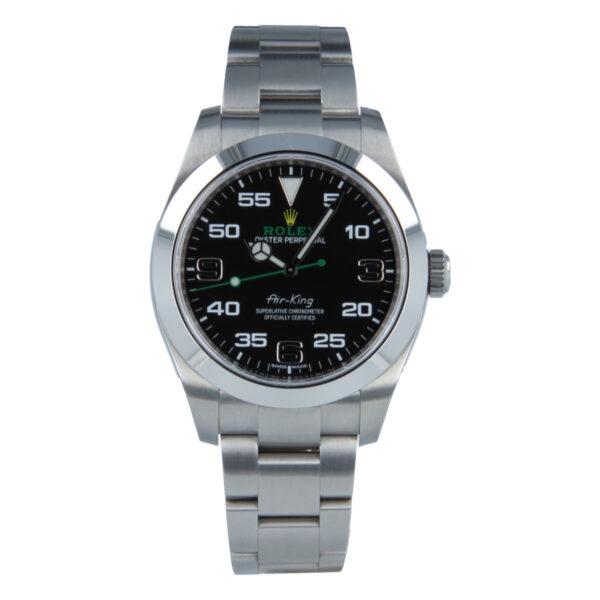 Rolex Air-King 116900 Replica Reloj para hombre con esfera negra de 40 mm